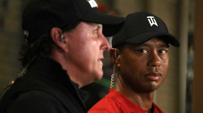 Woods and Mickelson showdown 10 years too late, says Jon Rahm