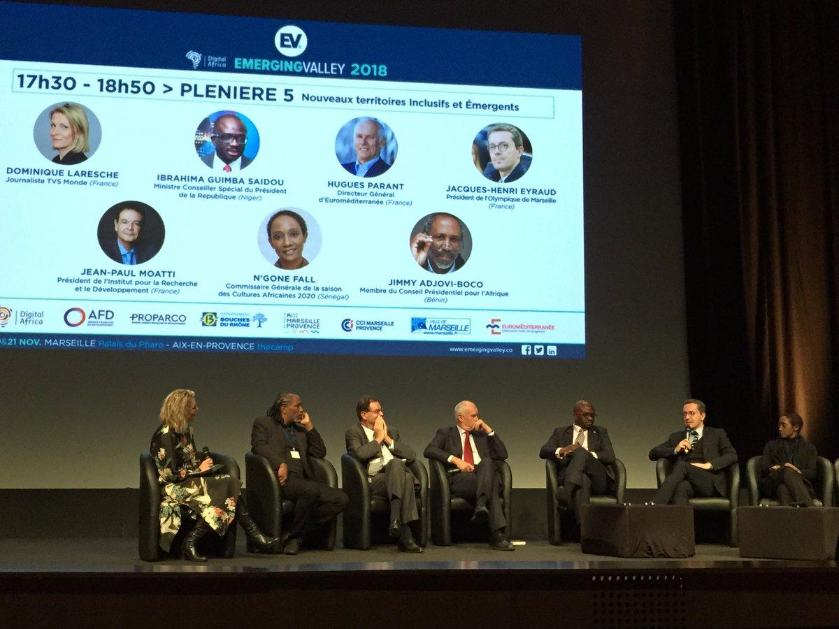 Lors de l'événement @emergingvalley, j'ai été invité à parler de la place de l'Afrique dans notre projet. J'ai rappelé tout ce que le foot européen devait à l'Afrique. 23% des joueurs de l'élite européenne sont africains! Bravo @SamirAbdelkrim