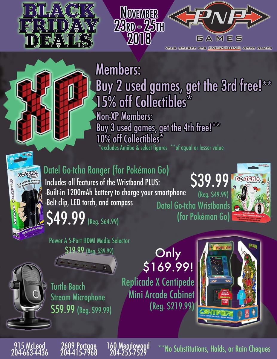 Pnp Games On Twitter Pnp Games Black Friday Sale November 23rd 25th 2018 2 2 Blackfriday Videogames Winnipeg Sale