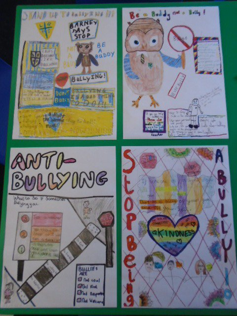 some of their fantastic pictures will be displayed around school and really highlighted the children s grasp of lady barn s anti bullying