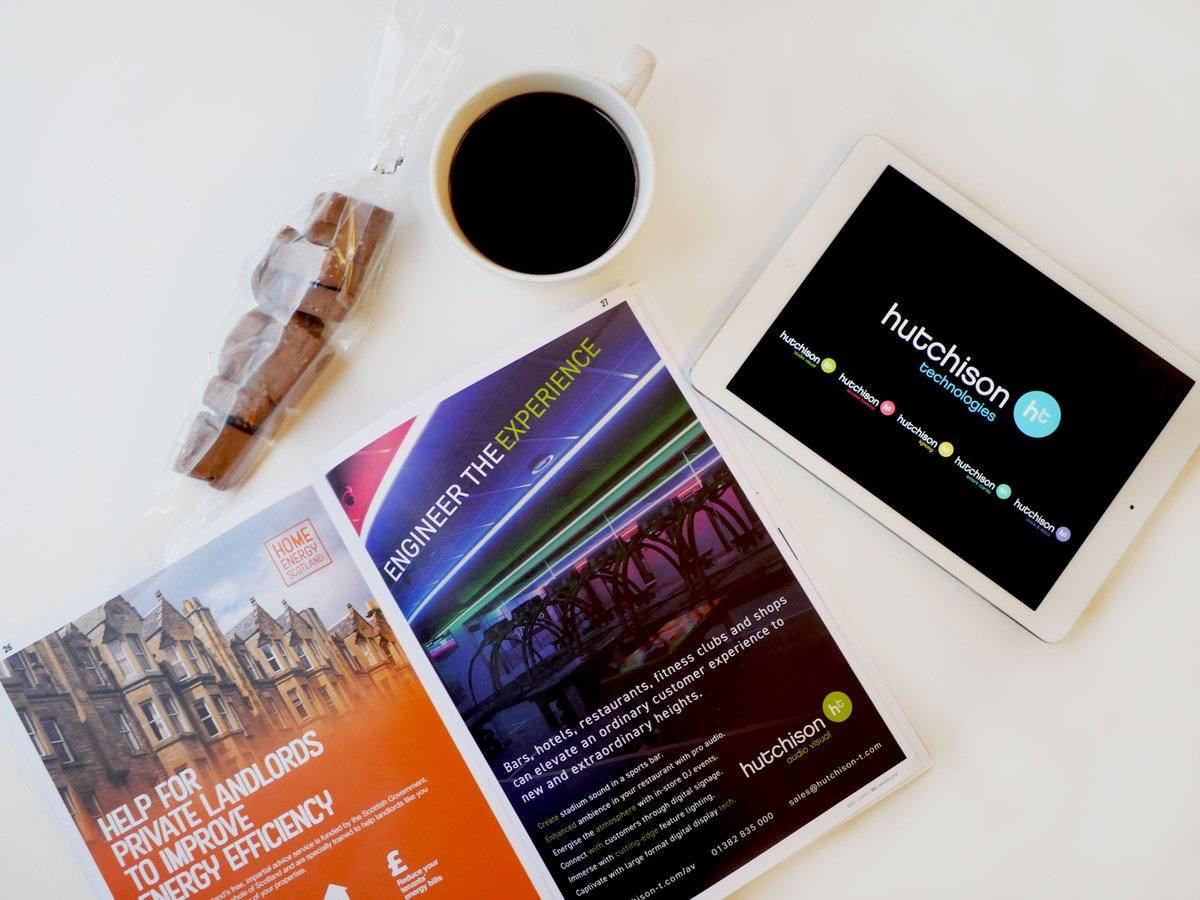 Image for Has the first edition of #Connected magazine by @DundeeAndAngus Chamber of Commerce landed through your letterbox yet? If so, check out pages 19 & 27 for Hutchison-t ➡️ https://t.co/5ANPmyw80c  #DACC #ConnectedMagazine #Hutchison_Tech #EngineerTheExpe