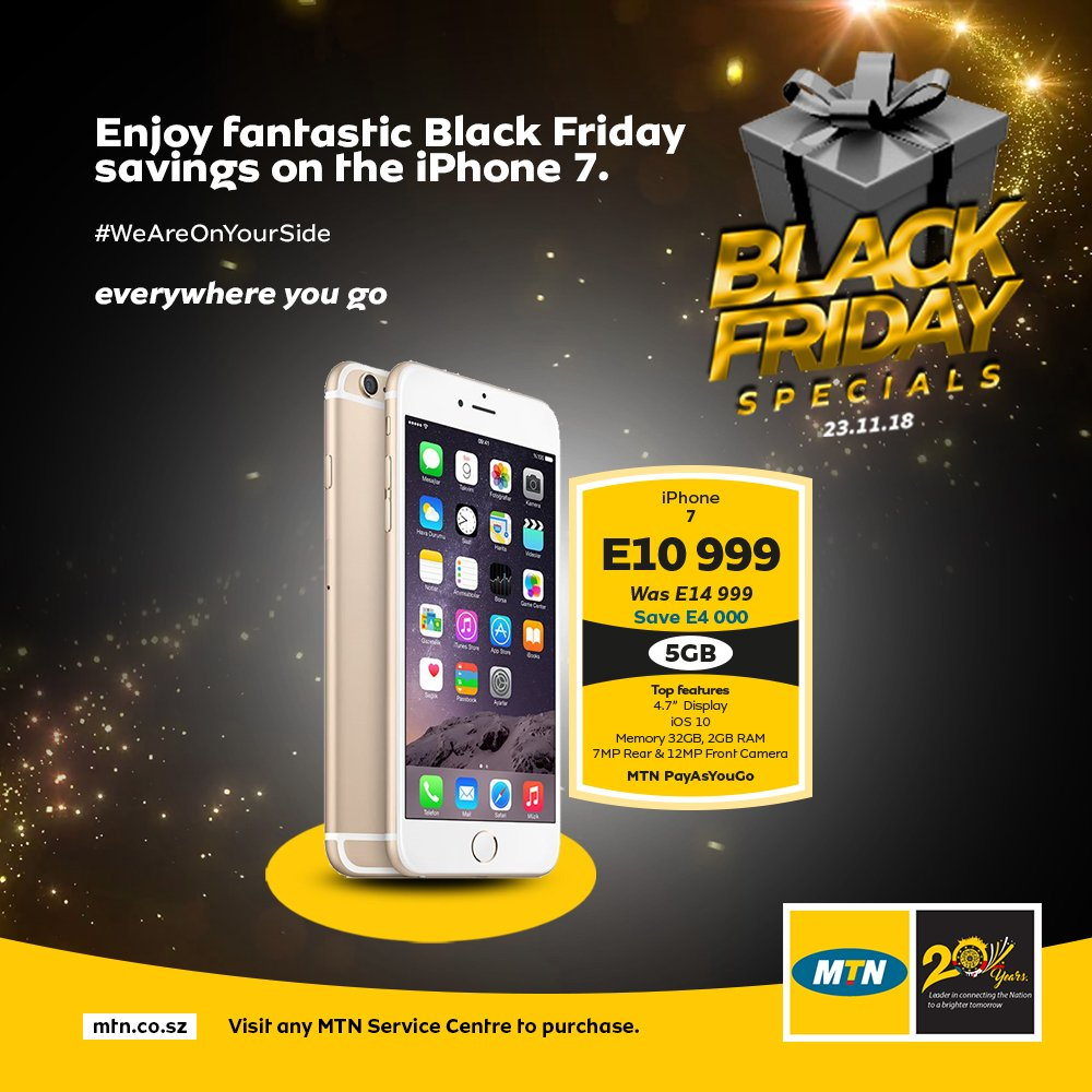 Mtn Eswatini On Twitter As Promised Mtneswatinifam We Got You Covered With These Moja Blackandyellofriday Deals Topped With Free Data Get Them While They Re Hot At Selected Mtn Outlets Offer Valid