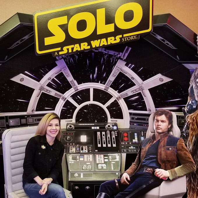 Happy Birthday, Alden Ehrenreich! Remember that one time we flew the Falcon together?