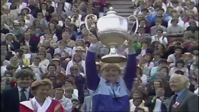 Happy birthday, Boris Becker! to 1985 when a star was born.