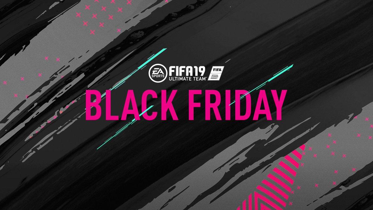 Ea Sports Fifa On Twitter Blackfriday Is Coming 6 Am Pt 2 Pm Uk Fut Fifa19