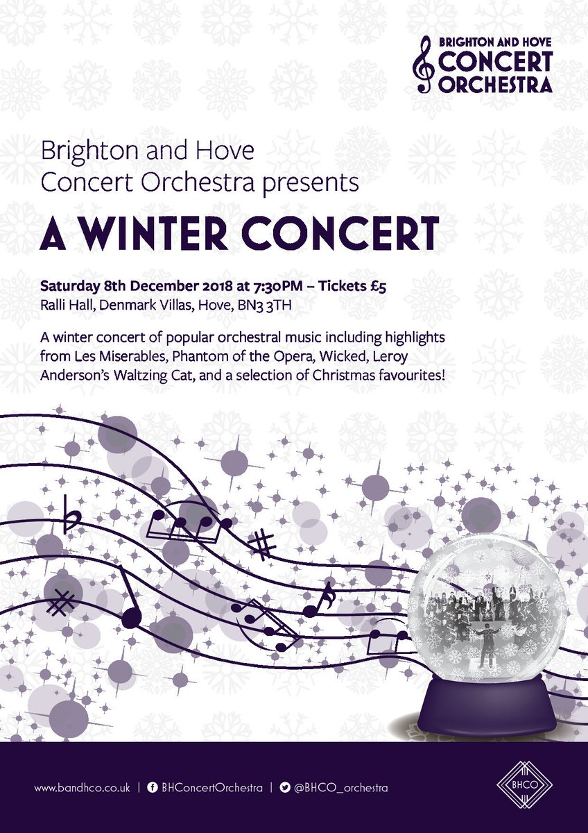 Brighton and Hove Concert Orchestra (@BHCO_orchestra) | Twitter