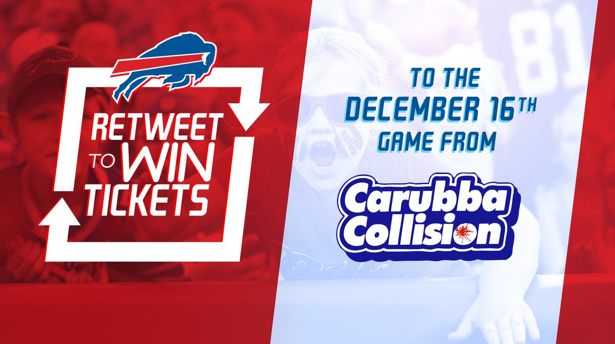 Retweet for a chance to win tickets to our home game against Detroit from #CarubbaCollision.  Rules: http://bufbills.co/sOei4D   Sports fans! Sign up for the new exciting live interactive sports app, FIREFAN! Go to … https://www.youtube.com/watch?v=iKNtSC_jab8 …