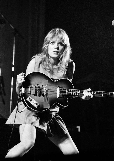 Happy birthday to Tina Weymouth. Photo c.1980.