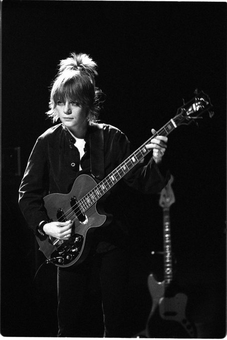 Happy Birthday Tina Weymouth - born on this day in 1950.