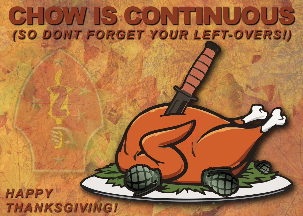 2nd Marine Division wishes everyone a Happy Thanksgiving. Enjoy your time with friends and family.   Remember to Protect What You've Earned! #oorah #usmc #semperfi
