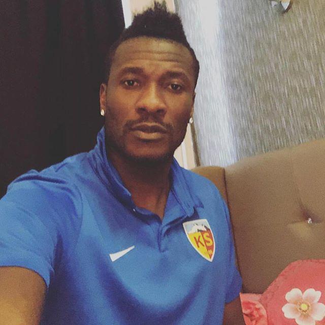 Happy birthday to the captain of the Black Stars , Asamoah Gyan