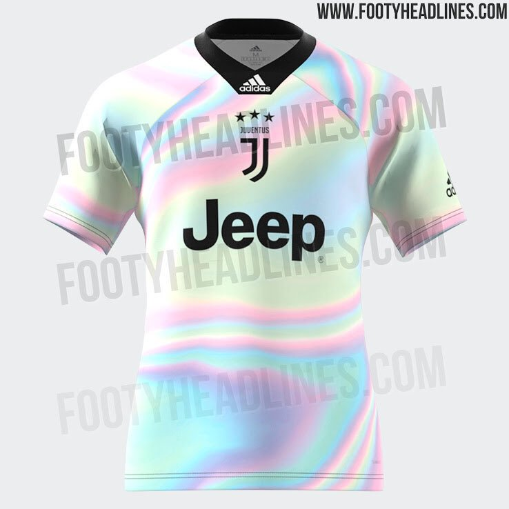 aeafa073818 The new Adidas x EA Sports Juve shirt takes on the Digital 4th Kit concepts  that were released for the brand s major clubs last year