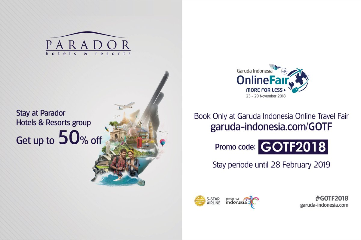 Garuda travel fair 2019
