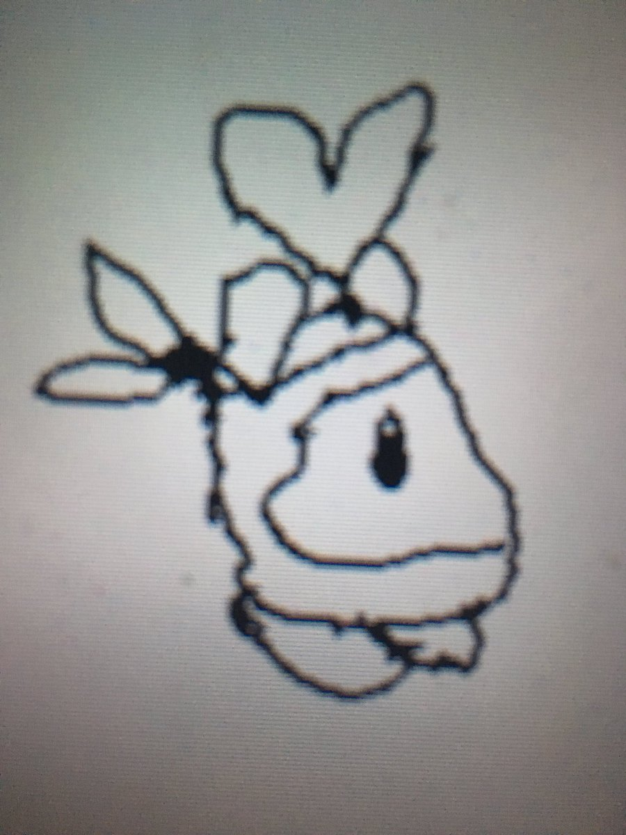 Thanks to @Jiggly_101 @JigglySoul @MrSlider64 @GrowKenny @GracksGuy @RubyRogers7902 @Hotdog_Scout @ThatKirbo @INSERNAMEHERE_ @NintenZ @JcJc29_ for being awesome in the Bandana Battalion server. Enjoy this shitty heart dee drawing!