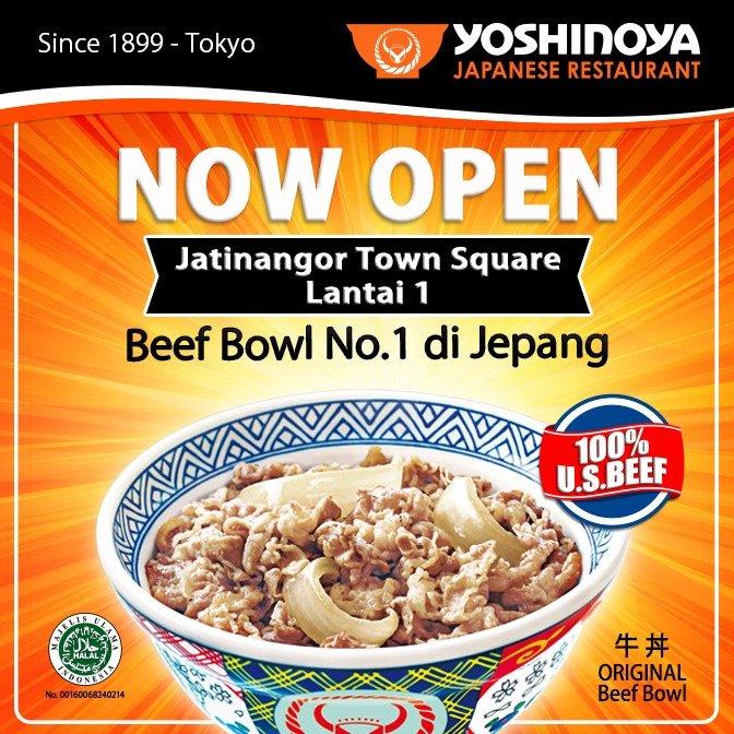 Yoshinoya Indonesia On Twitter Now Open Yoshinoya