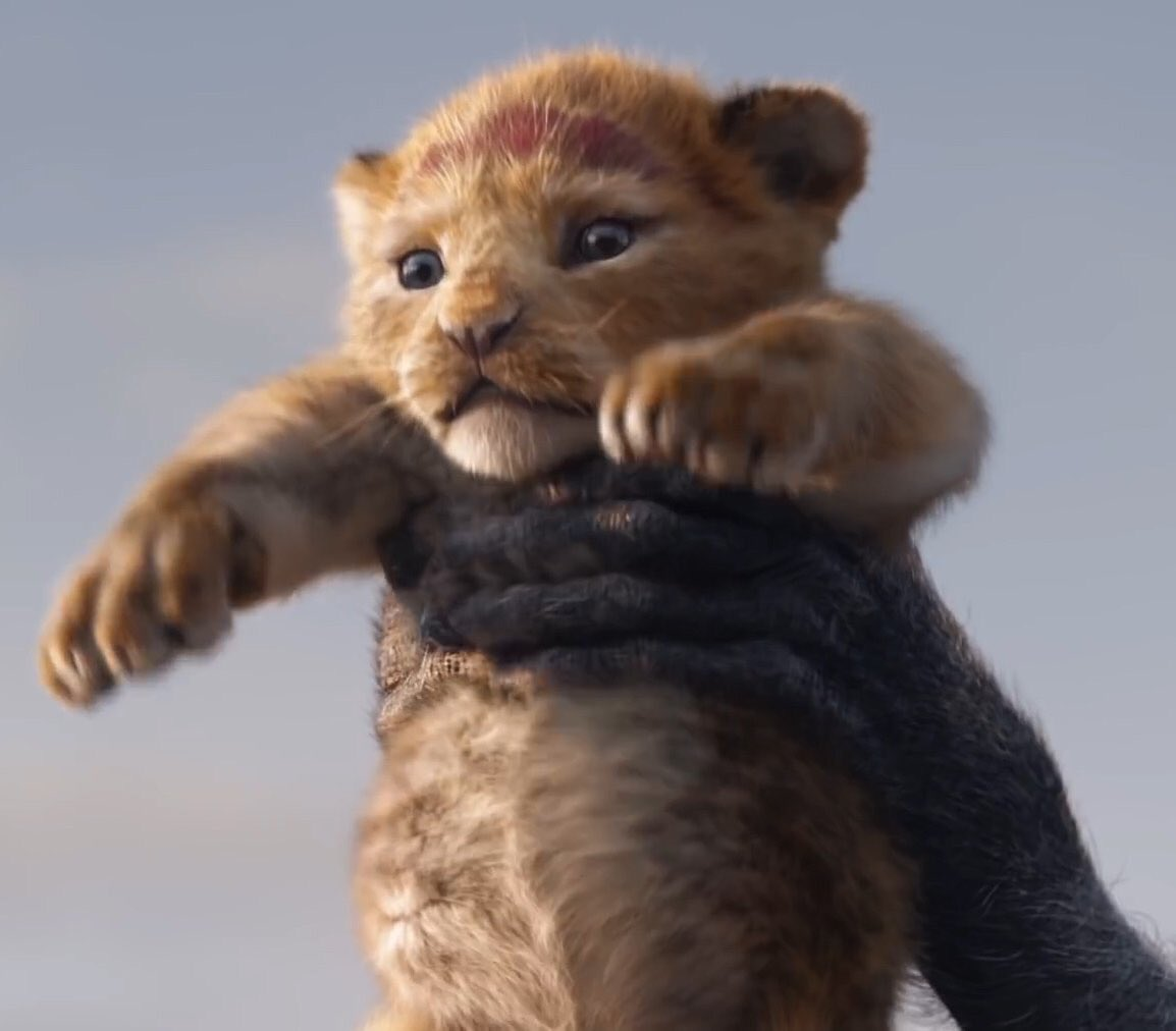 So this little mfer is gonna tell Mufasa to get up? And y'all expect me to not cry?