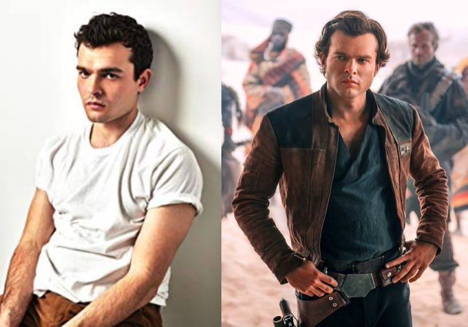 Happy 29th Birthday to Alden Ehrenreich! The actor who played Han Solo in Solo: A Star Wars Story.