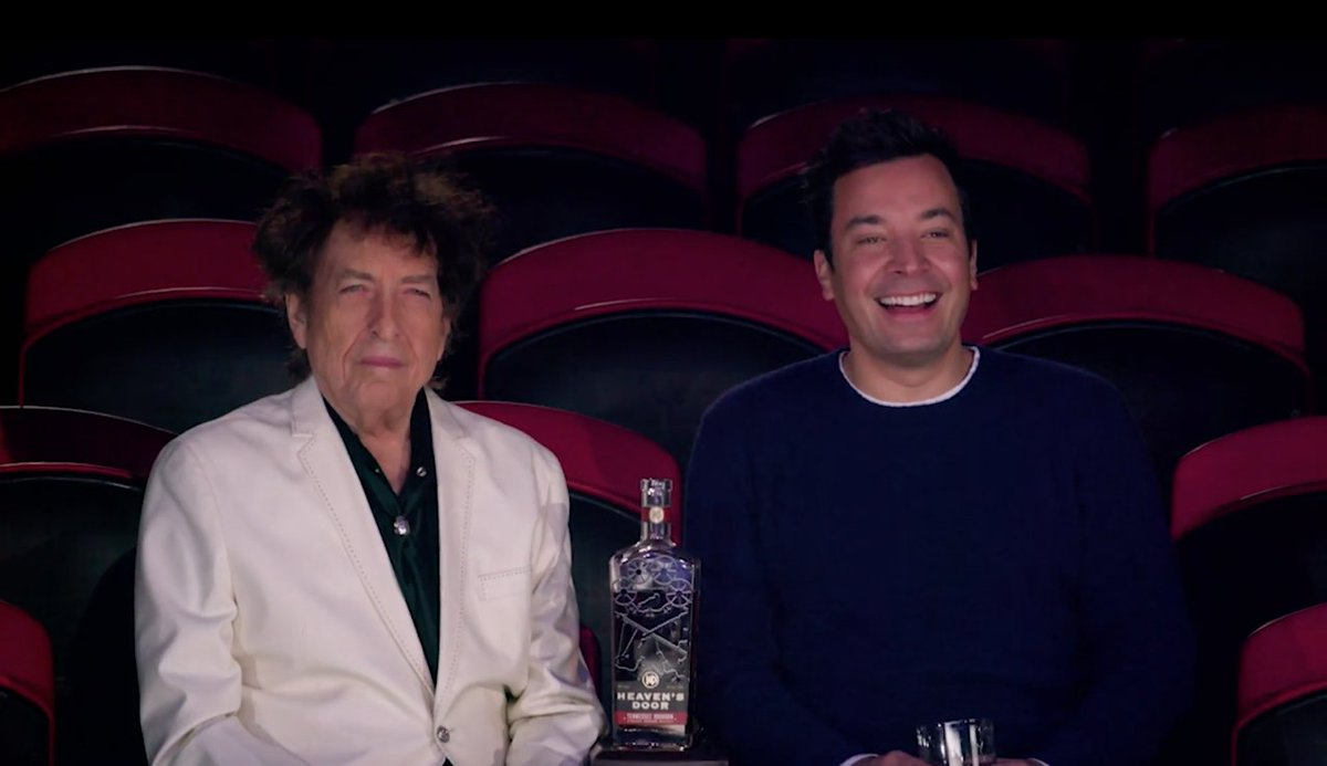 Jimmy takes Bob Dylan to the circus