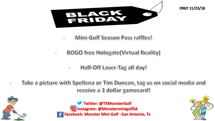 graphic about Monster Mini Golf Coupons Printable known as monster mini golfing san antonio tx -