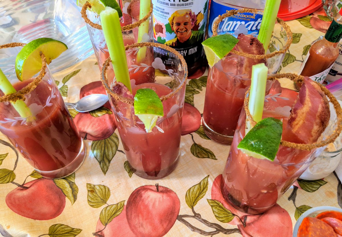 Cocktail Artist Cocktailartists Twitter Mix Your Using A Keyboard Each Year Since Ive Upgraded The This I Added Bacon Winning Titosvodka Clamato Cocktailartistspic Wjuqze1dcs