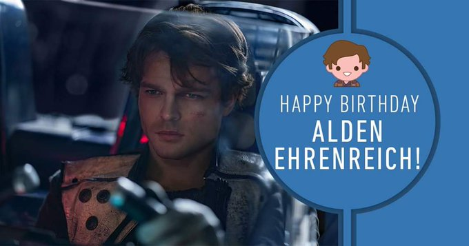 We re thankful for Alden Ehrenreich. Join us in wishing one of our favorite scoundrels a very happy birthday!