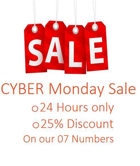 Sale on our 07 mobile numbers #mobilenumbers #07sale #goldnumbers #07numbers #marketing #CyberMondayDeals #CyberMonday #BlackFriday #sale #personalnumberspic.twitter.com/EndZ9cdrWX