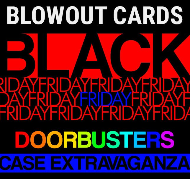 Image result for blowout cards black friday
