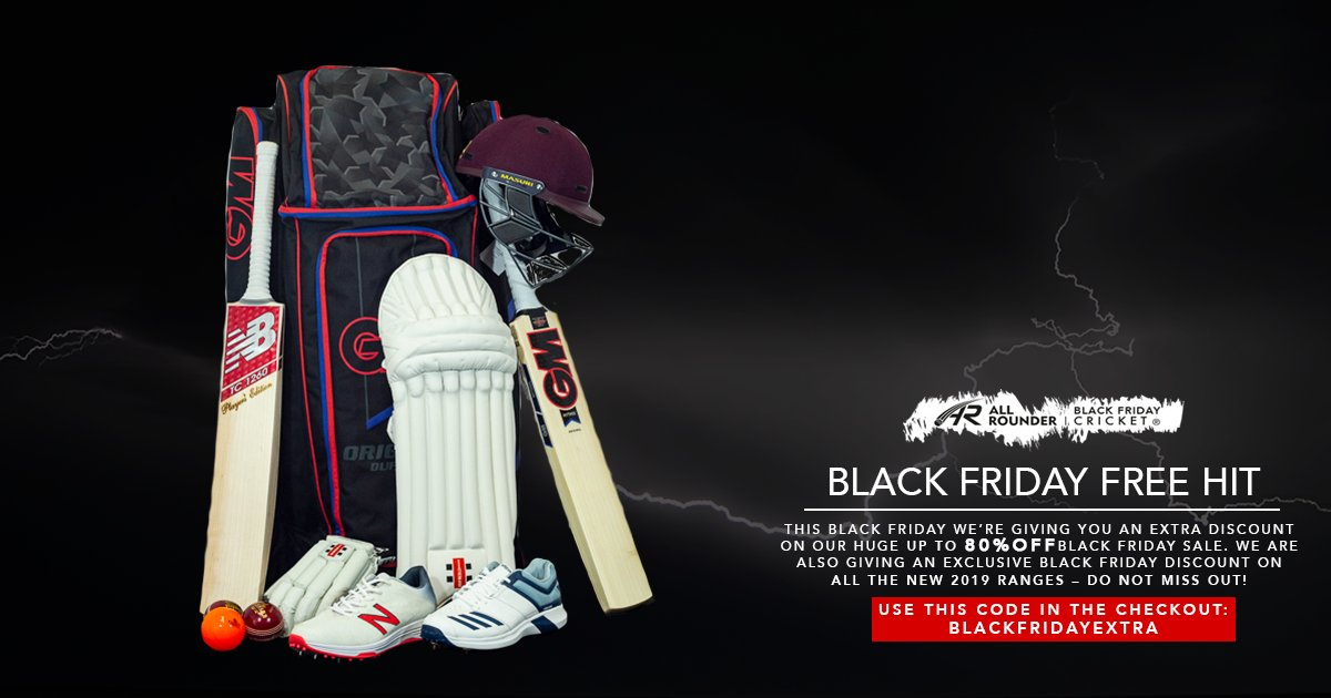 All Rounder Cricket On Twitter Get An Extra Black Friday Discount Off The New 2019 Ranges And Our Up To 80 Off Sale Products Using Code Blackfridayextra At The Checkout Every Single