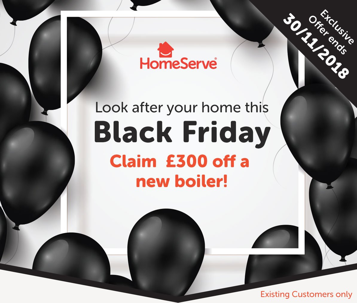Homeserve Uk On Twitter Are You A Homeserve Customer Get A Great Deal This Blackfriday And Claim Your 300 Off A New Boiler Find Out More About Our Early Bird Winter