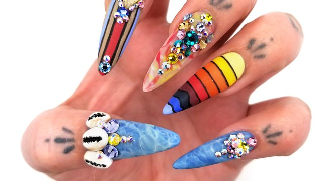 Nails Next Top Nail Artist Swarovski Follow Nailsmag On Twitter