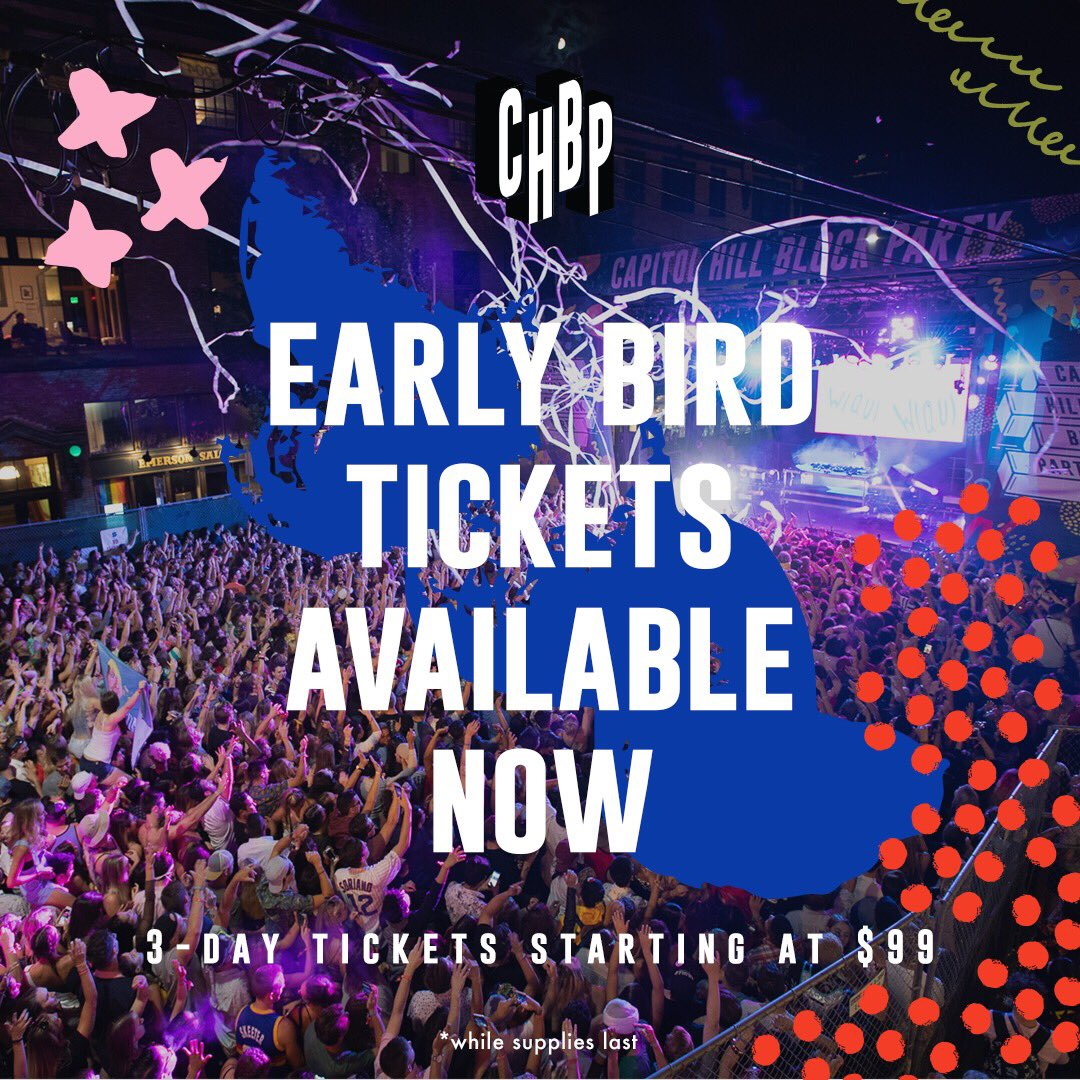capitol hill block party promo code