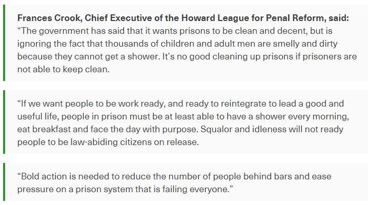 The Howard League on Twitter: