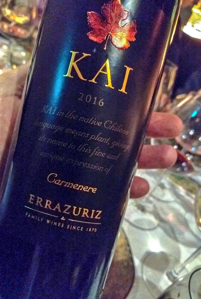 Kết quả hình ảnh cho kai carmenere errazuriz 2016