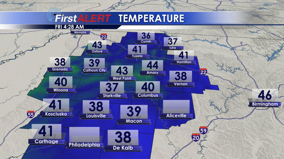 Wcbi Weather On Twitter 4 29 Am A Cold Start On Black Friday