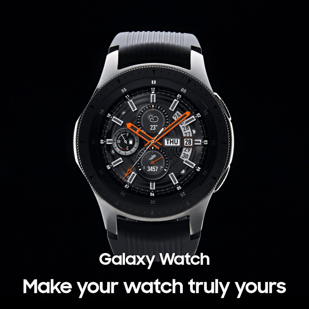 Mix and match, anytime. #GalaxyWatch Learn more: http://smsng.co/GalaxyWatch_ift