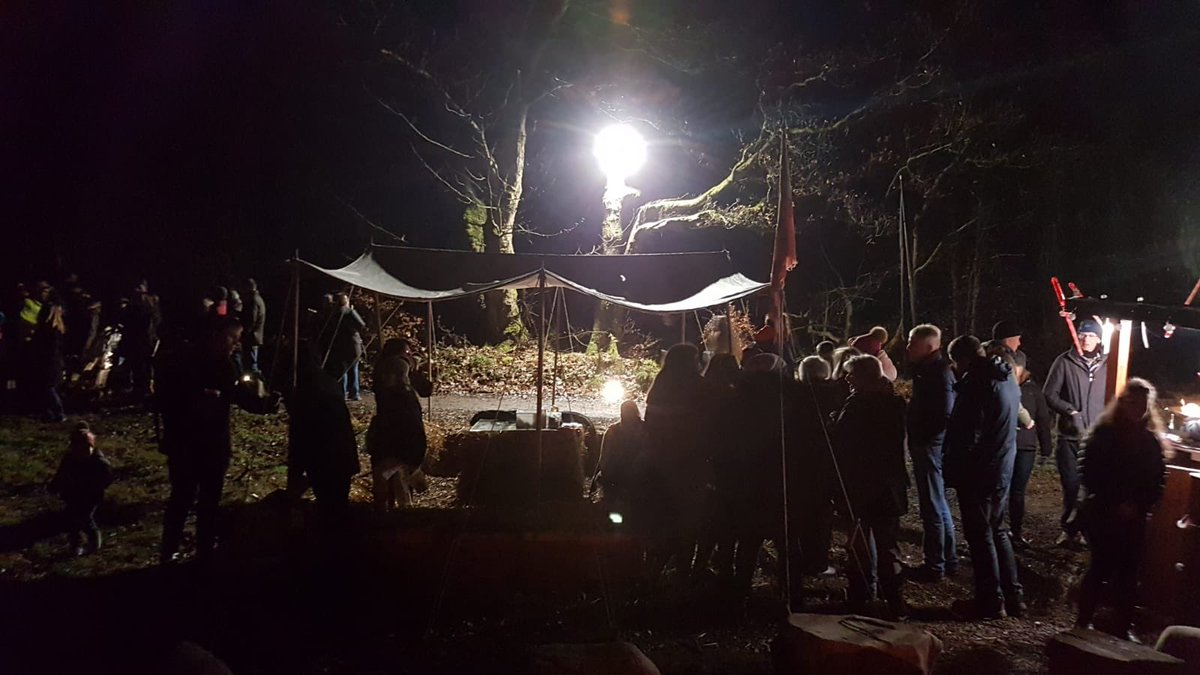 Another successful night of #Legion. Join us tonight as we bring #history to life! Tickets available at box office until 7.30 or online at http://www.RoughCastleExperiences.co.uk