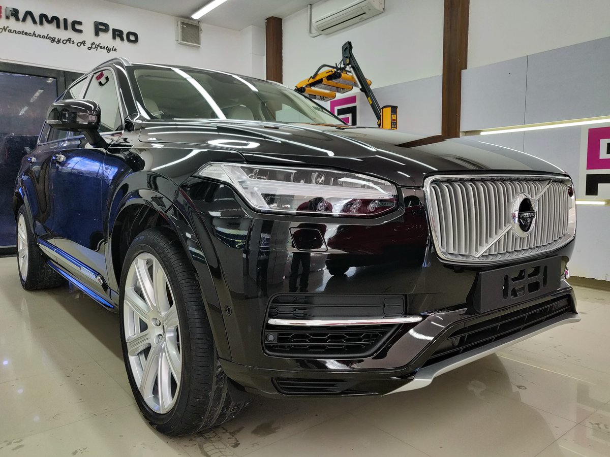 Ceramic Pro Chennai On Twitter Volvo Xc90 Protected With World S Leading Ceramic Coating Nanotec For More Info Visit Https T Co Enadwoa2fo