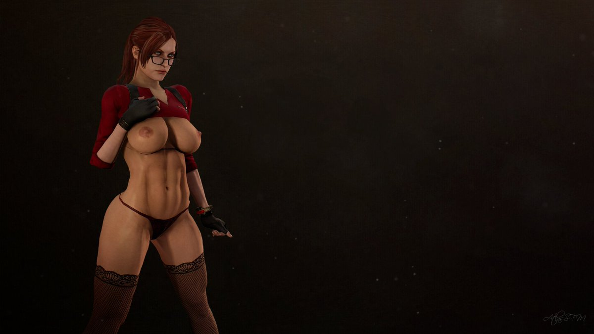Naked claire redfield boobs