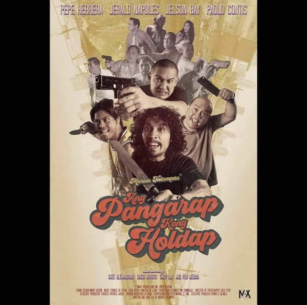Catch Pepe Herrera in #AngPangarapKongHoldap this November 28 in cinemas nationwide! #APKH
