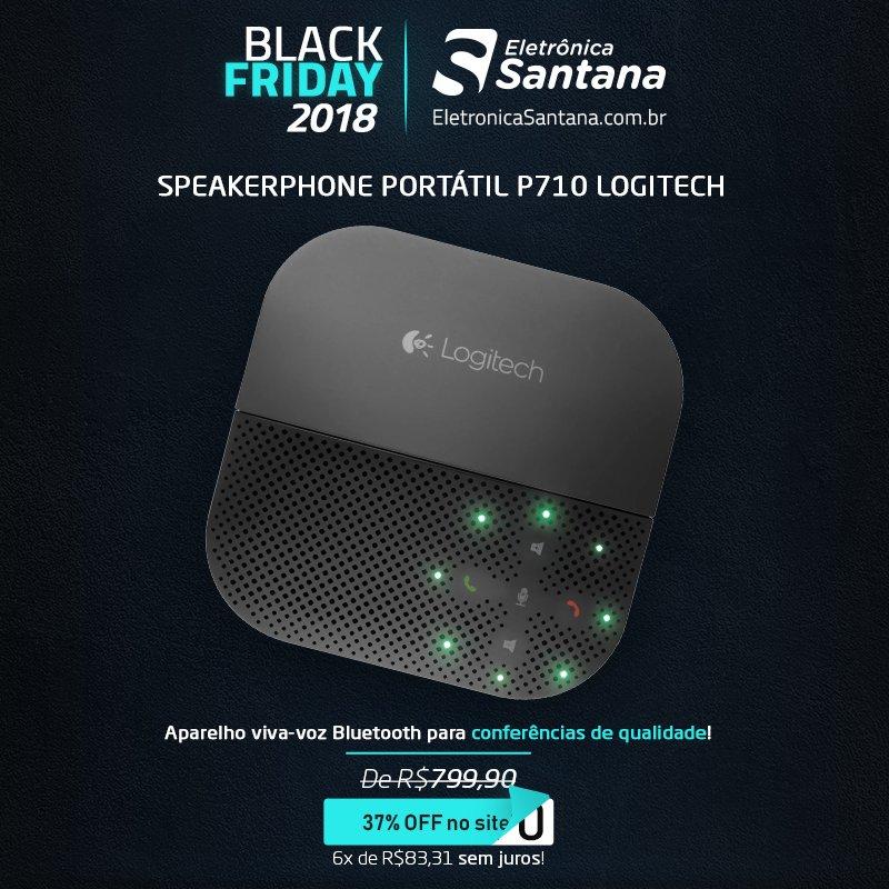 Com o Speakerphone da Logitech, você transforma qualquer ambiente em uma sala de conferências!  Não perca a chance de garantir o seu nessa #BlackFridayBrasil! https://t.co/WClxcVqkME https://t.co/SRbB7E70o5
