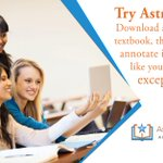 The old way of buying textbooks breaks your back and bank. Try Astria Library. Download and organize any textbook, then highlight and annotate in real-time just like you would on paper, except less hassle. Try Astria Library today -  https://t.co/JM7EbqMPAQ