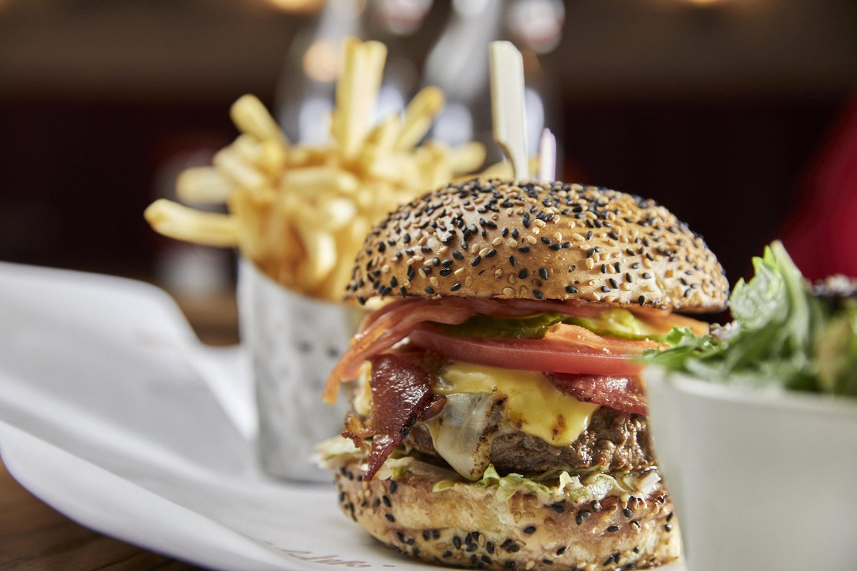 It's a burger's world & we're just livin' in it.