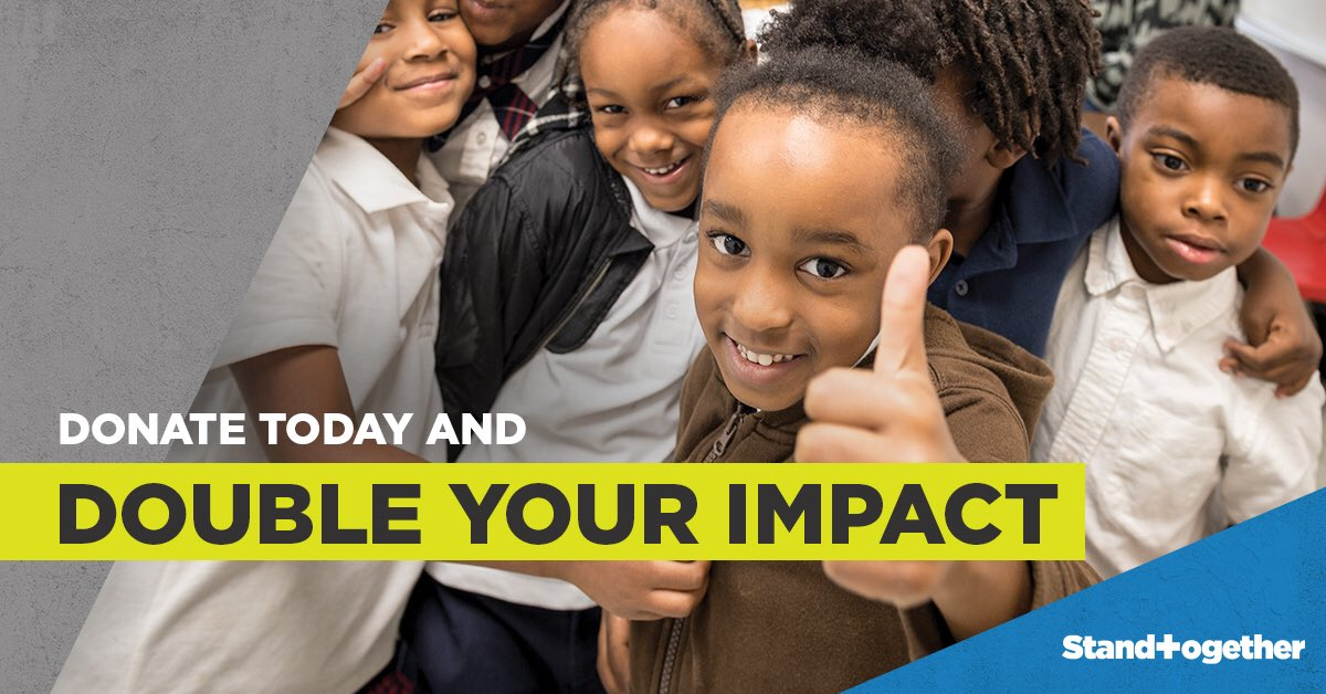 test Twitter Media - On a day centered on saving, @StandTgthr is giving the opportunity to invest and #MakeItCount. From #BlackFriday through #GivingTuesday, when you donate to WiNGS, Stand Together will MATCH IT! Donate at https://t.co/d0arV3tm6N, scroll down and select WiNGS. https://t.co/ggwZnjGZiD