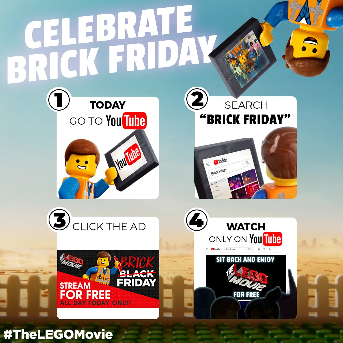 Youtube On Twitter Happy Blackfriday If You Search Brick Friday