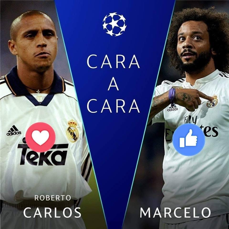De los mejores laterales en la Historia de Brasil y del Real Madrid.  ¿ Con cuál te quedas ? 🤔🤨🇧🇷  #UCL @Nissan_ESP