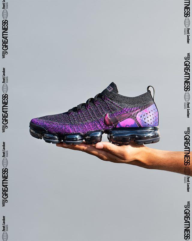 7200081152c9 ... Nike Air VaporMax Flyknit 2  Midnight Purple  Champs http   bit.ly 2R2Ipa8  Eastbay http   bit.ly 2R5sK9R Foot Locker http   bit.ly 2DUlPNY ...