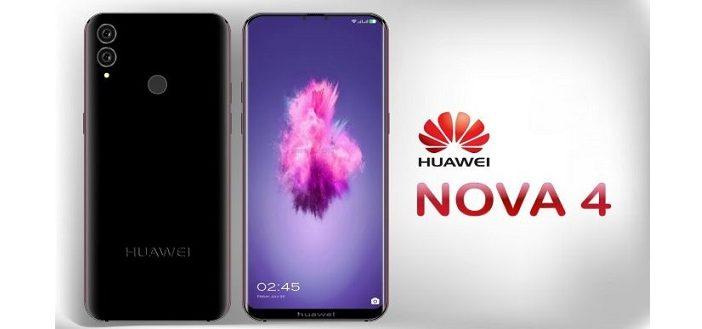 Huawei Nova 4 рендеры нового смартфона