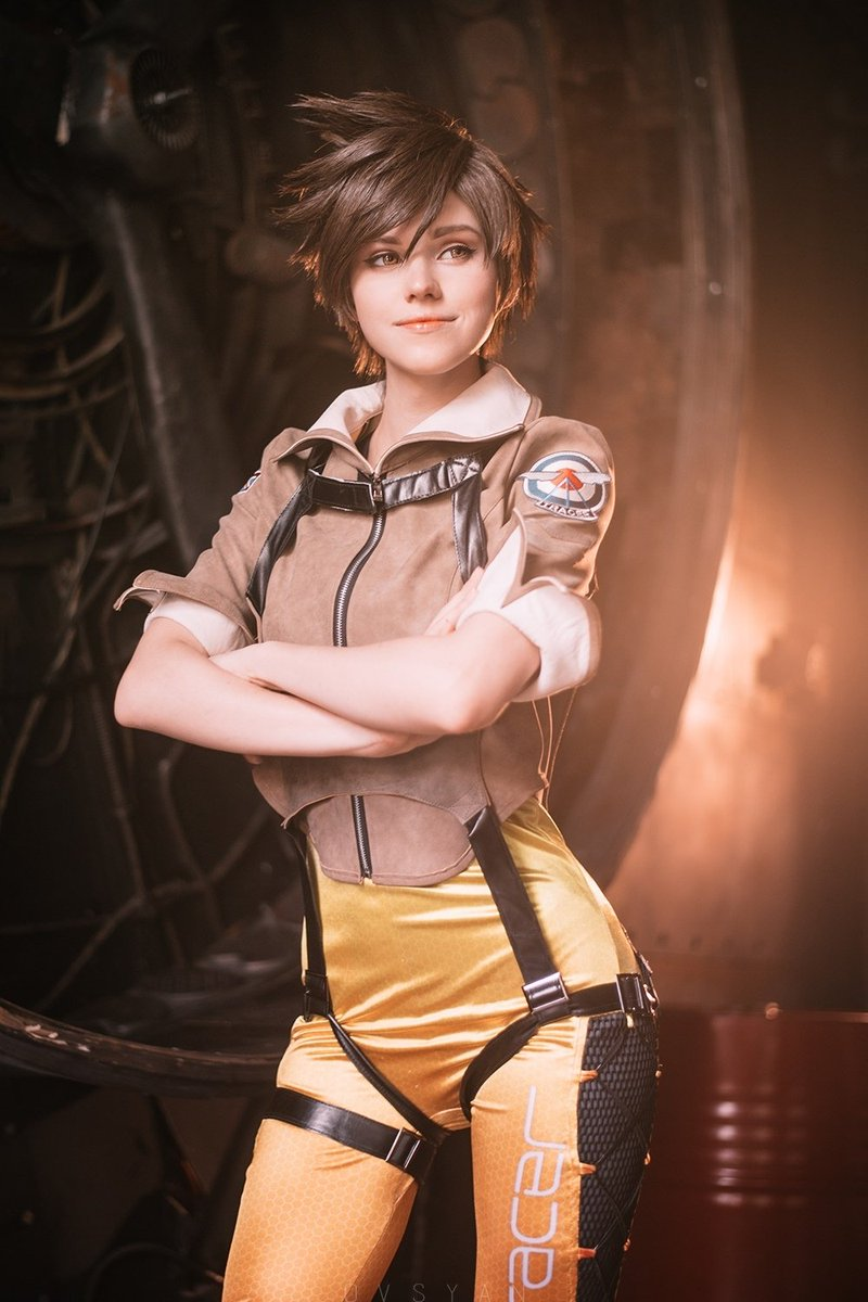 Cosplay hot tracer Overwatch Fan