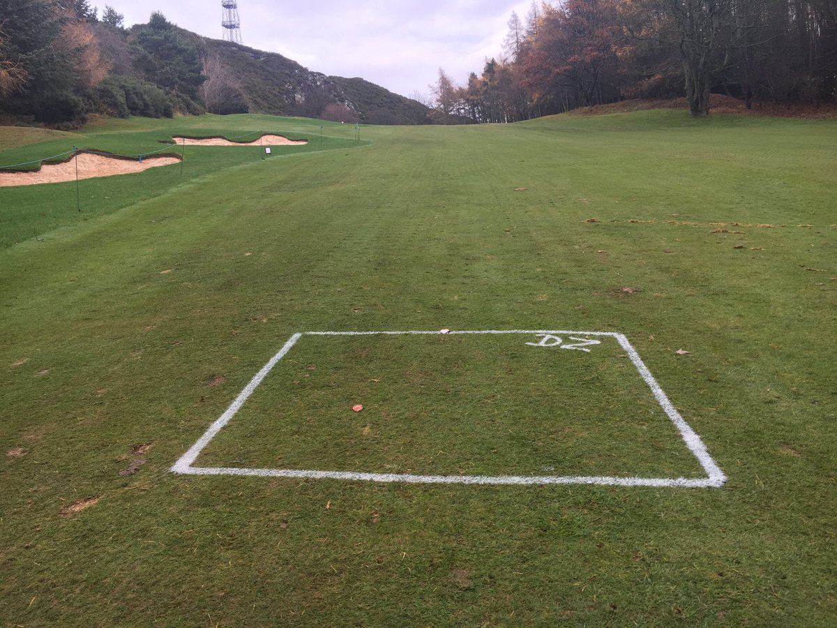 test Twitter Media - From tomorrow the 24 th November our local rule will be in play at the 1st and 18th . There will be a slight difference if your  ball lands in the newly turfed area please use the drop zones provided . Otherwise please take your ball to the right side of fairway as normal . https://t.co/PfUDA3J92T