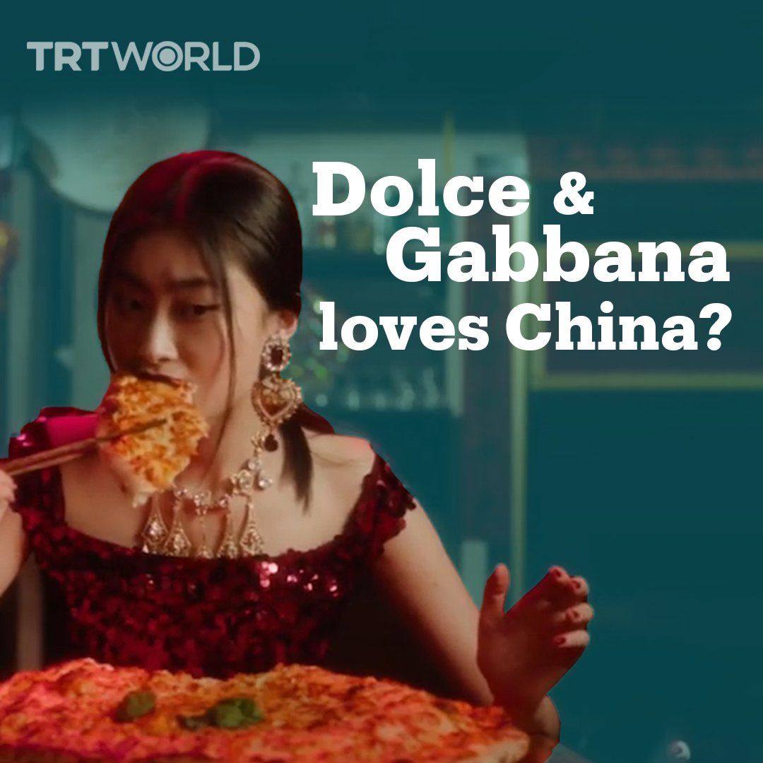 Italian fashion house Dolce   Gabbana is facing backlash in China after an  ad sparked accusations of racism f4aef0903ddd6